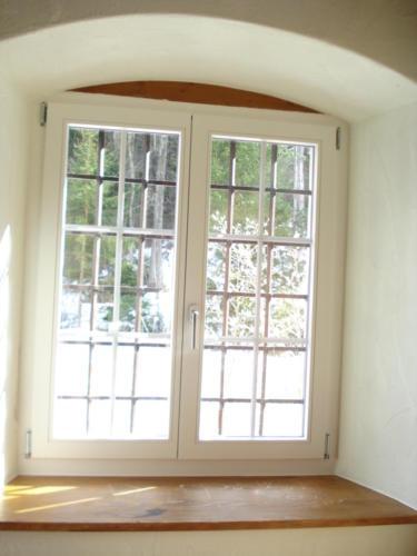 Fenster montiert